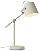 Stolní lampa MATELL bílá/chrom E27