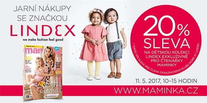 Dnes začínají Jarní nákupy se značkou Lindex. Pojďte s Maminkou nakupovat d7b925c5710
