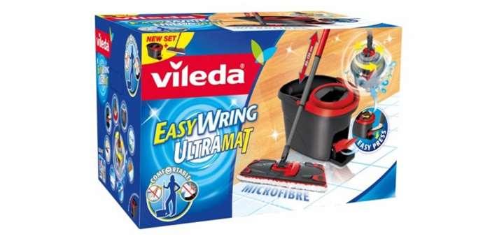 ploch mop vileda easy wring ultramat set. Black Bedroom Furniture Sets. Home Design Ideas