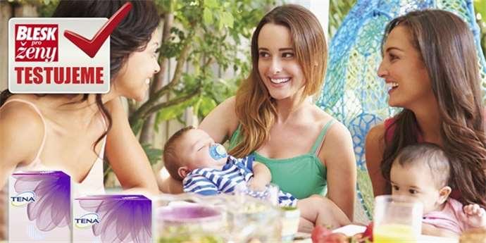 Užijte si pocit sebejistoty a svěžesti s TENA Lady! – Maminka.cz f29ed99996