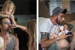 Nalakované nehty, korunka na hlavě? Tohle tátové dělají kvůli dětem!