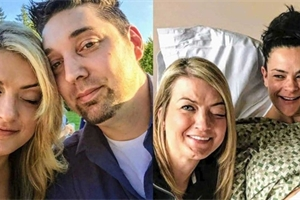 Rakovina jí znemožnila stát se mámou. Dvojčata jí porodila sestra