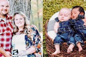 Čekala na adopci, když otěhotněla. Obě děti se narodily ve stejný den!
