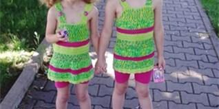 f1b383e535e Prodám  oblečení pro dvojčata-holčičky – bazar Maminka.cz